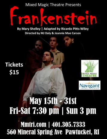 Frankenstein Poster Updated 5-9-15