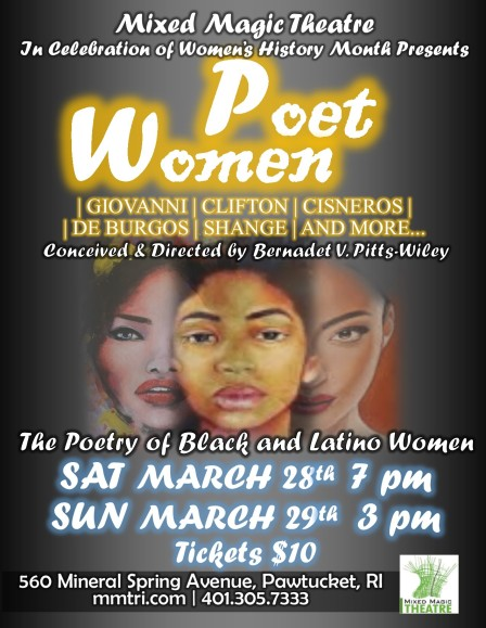 Poet Woman Poster COLOR