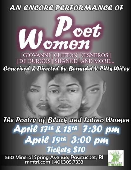 Poet Women Poster ENCORE